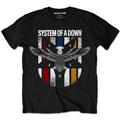 SYSTEM OF A DOWN Eagle Colours, Tシャツ