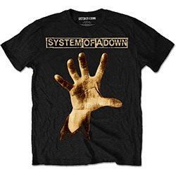 SYSTEM OF A DOWN Hand, Tシャツ