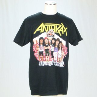 ANTHRAX Euphoria Group Sketch, Tシャツ