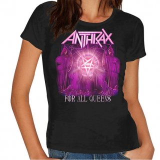 ANTHRAX For All Queens (Skinny Fit), レディースTシャツ