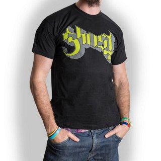 GHOST Green/Grey Keyline Logo, Tシャツ