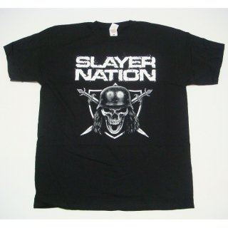 SLAYER Slayer Nation 2014 Dates (Ex-Tour with Back Print), Tシャツ