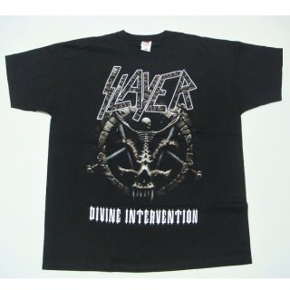 SLAYER Divine Intervention 2014 Dates (Ex-Tour with Back Print), Tシャツ