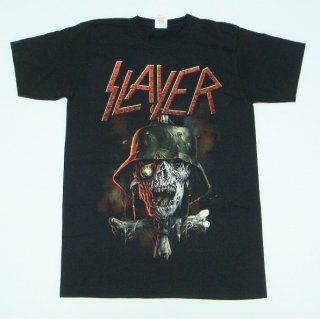 SLAYER Soldier Cross 2014 Dates (Ex-Tour with Back Print), Tシャツ
