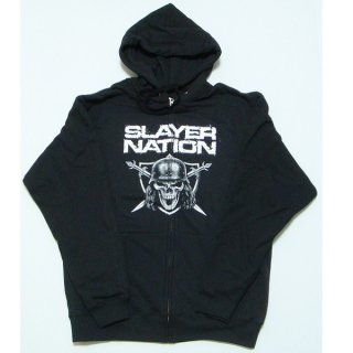 SLAYER Slayer Nation, Zip-Upパーカー