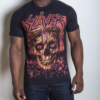 SLAYER Crowned Skull, Tシャツ