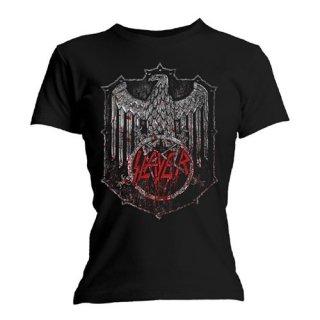 SLAYER Bloody Shield, レディースTシャツ