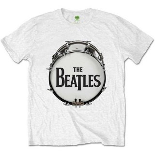 THE BEATLES Original Drum Skin, Tシャツ