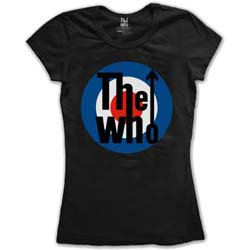THE WHO Target Classic, レディースTシャツ