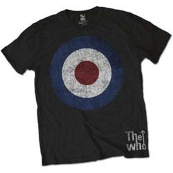 THE WHO Target Distressed, Tシャツ