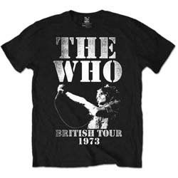 THE WHO British Tour 1973, Tシャツ