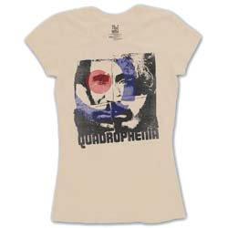 THE WHO Four Square, レディースTシャツ