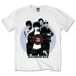 THE WHO Maximum Rhythm & Blues, Tシャツ