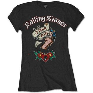 THE ROLLING STONES Miss You, レディースTシャツ