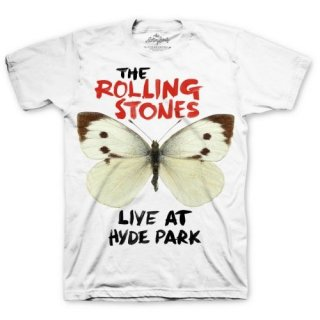 THE ROLLING STONES Butterfly Hyde Park, Tシャツ