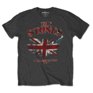 THE ROLLING STONES Union Jack Us Map, Tシャツ