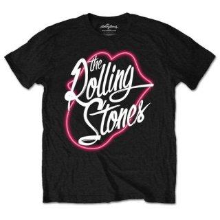 THE ROLLING STONES Neon Lips, Tシャツ