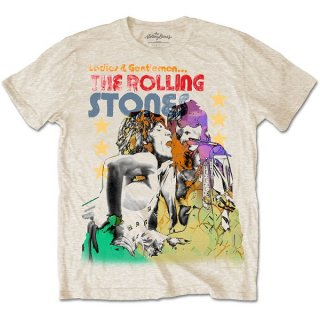 THE ROLLING STONES Mick & Keith Watercolour Stars, Tシャツ