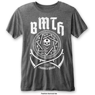 BRING ME THE HORIZON Crooked Young (Burn Out) Cha, Tシャツ