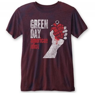 GREEN DAY American Idiot Vintage Nr, Tシャツ