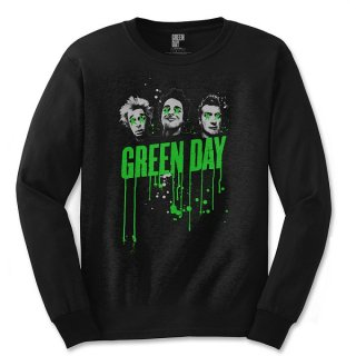 GREEN DAY Drips, ロングTシャツ