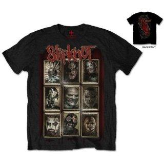 SLIPKNOT New Masks, Tシャツ