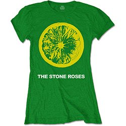 THE STONE ROSES Lemon & Logo, レディースTシャツ