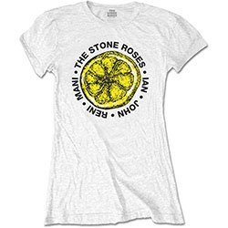 THE STONE ROSES Lemon Names, レディースTシャツ