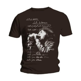 THE DOORS LA Woman Lyrics, Tシャツ