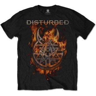 DISTURBED Burning Belief, Tシャツ