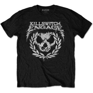 KILLSWITCH ENGAGE Skull Spraypaint, Tシャツ