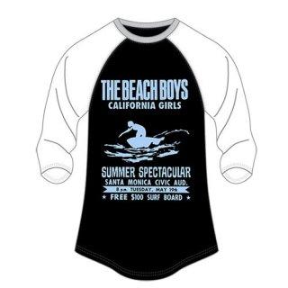 THE BEACH BOYS Spectacular, ラグランTシャツ(レディース)