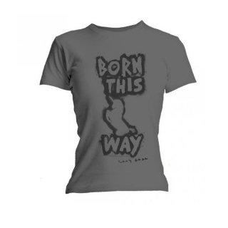 LADY GAGA Born This Way, レディースTシャツ