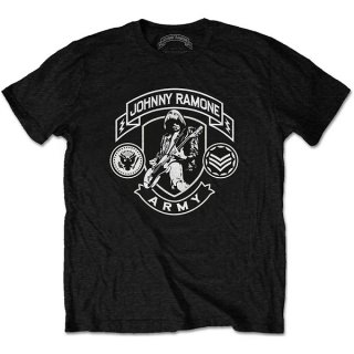 RAMONES Johnny Ramone Army Logo, Tシャツ