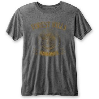 RAMONES Forest Hills with Burn Out Finishing, Tシャツ