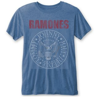 RAMONES Presidential Seal (Burn Out), Tシャツ