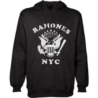 RAMONES Retro Eagle New York City, パーカー