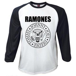 RAMONES Presidential Seal, ラグラン七分袖Tシャツ
