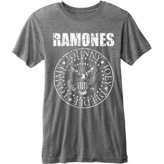 RAMONES Presidential Seal With Burn Out Finishing 2, Tシャツ