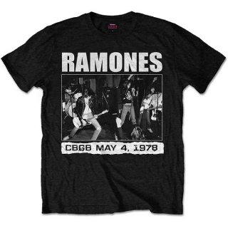 RAMONES Cbgb 1978, Tシャツ