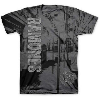 RAMONES Subway with Sublimation Printing, Tシャツ