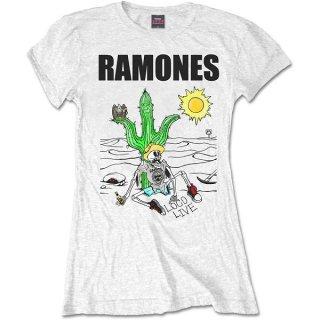 RAMONES Loco Live, レディースTシャツ