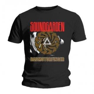 SOUNDGARDEN Bad Motor Finger Black, Tシャツ