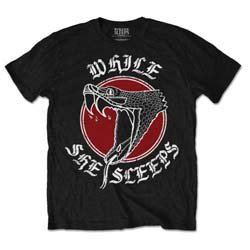 WHILE SHE SLEEPS Snake, Tシャツ
