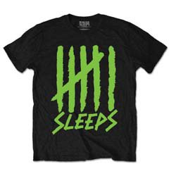 WHILE SHE SLEEPS Tally, Tシャツ