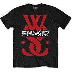 WHILE SHE SLEEPS Brainwashed Logo, Tシャツ