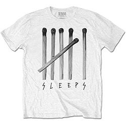 WHILE SHE SLEEPS Matches, Tシャツ