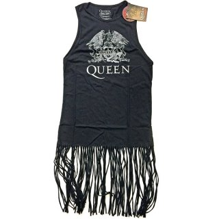 QUEEN Crest Vintage with Tassels, タンクトップ(レディース)