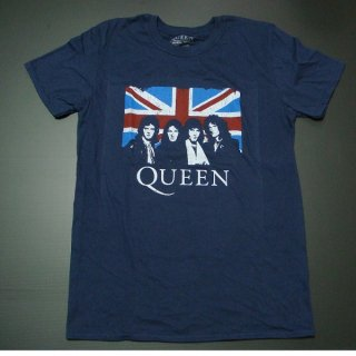 QUEEN Union Jack Navy, Tシャツ