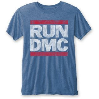RUN DMC Vintage Logo (Burn Out), Tシャツ